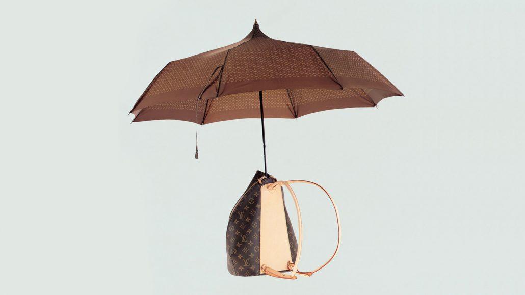 چتر و کیف لویی ویتان