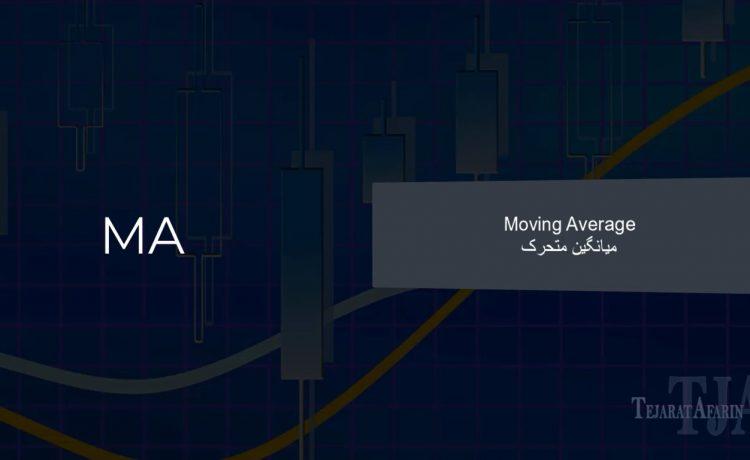 آشنایی با اندیکاتور Moving Average یا میانگین متحرک